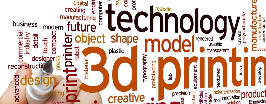 3D printing word cloud